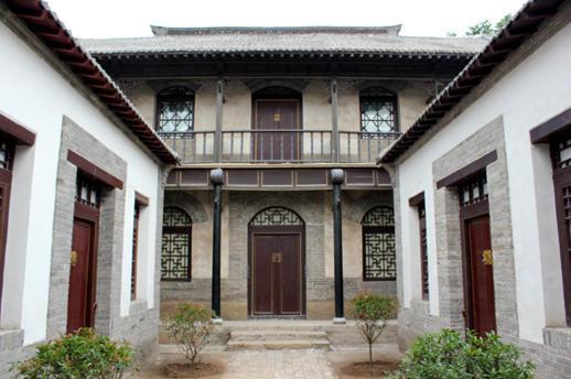 孟洛川纪念馆内部院落展示1.jpg